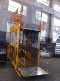 Operator Cab Construction Material Man And Material Hoist Dual Cage ISO